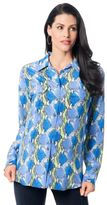 A Pea in the Pod Equipment Button Front Maternity Shirt
