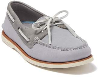 Sperry Gold AO 2-Eye Leather Boat Shoe