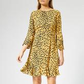 Whistles Women's Animal Print Flippy Dress