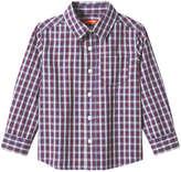 Joe Fresh Toddler Boys' Plaid Button Down Shirt, Green (Size 4)