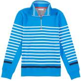 Nautica Striped Quarter Zip Pullover
