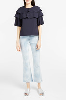 Paul & Joe Sister Ervolant Ruffled Blouse