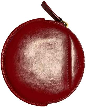 Loewe Red Leather Purses, wallets & cases