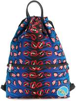 Fendi printed backpack