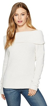 Bardot Women's Petite Zipper Knit Top
