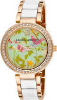 Laura Ashley Ladies White Summer Duck Egg Dial Watch La31007Wt
