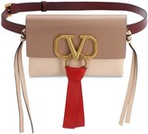 Valentino Garavani V RING 3 COLOR SMOOTH LEATHER BELT BAG