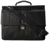 "Kenneth Cole Reaction Columbian Leather - 5.38"" Double Gusset Dowel Rod Portfolio"
