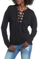Socialite Women's Lace-Up Sweatshirt