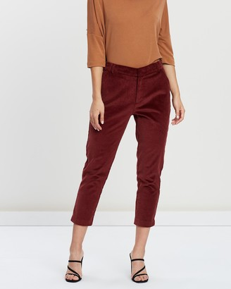 Privilege Tapered Cord Pants