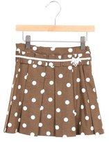 Tartine et Chocolat Girls' Polka Dot Pleated Skirt w/ Tags
