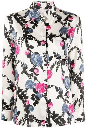 La DoubleJ Floral-Print Shirt