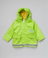 Kushies Green Raincoat - Infant