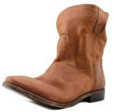 Lemaré 375 Women Round Toe Leather Brown Ankle Boot.