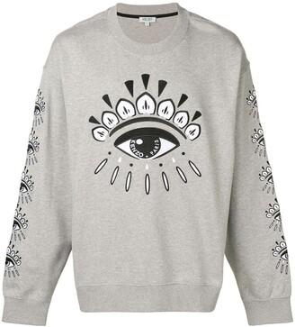 Kenzo Evil Eye printed sweatshirt