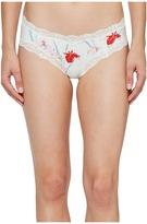 Calvin Klein Underwear Cotton Hipster with Lace Women's Underwear