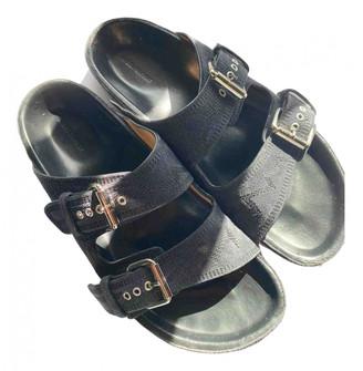 Isabel Marant Lenny Grey Suede Sandals
