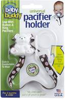 Baby Buddy Universal Pacifier Holder, Pink-Chocolate Dots by