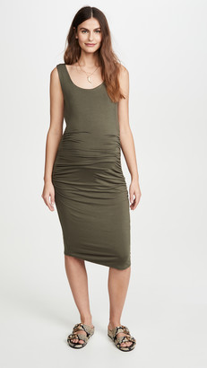 Ingrid & Isabel Ruched Maternity Tank Dress