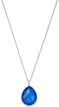 Ippolita Sterling Silver Wonderland Mother-of-Pearl Doublet Large Pendant Necklace, 18