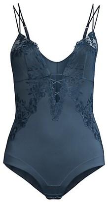 La Perla Zephyr Lace Silk Bodysuit