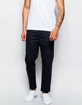 Cheap Monday Work Chinos Tapered Cropped Fit - Blue