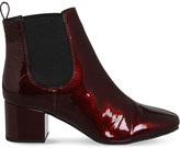 Office Love Bug patent-leather Chelsea boots