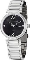 Stuhrling Original Women's 727.02 Vogue Soiree Diamond Circlet Swiss Quartz Dial Watch