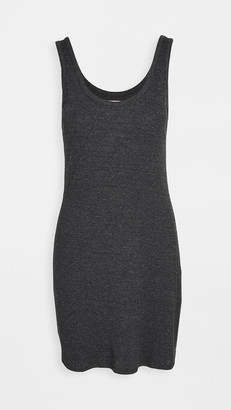 Chaser Triblend Rib Double Scoop Mini Tank Dress