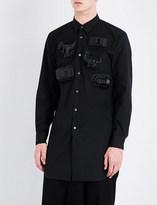 Comme des Garcons Toy-detailed regular-fit cotton shirt