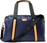 Paul Smith - Leather-trimmed Two-tone Shell Holdall