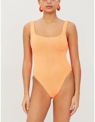 Hunza G Classic striped swimsuit