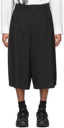 Yohji Yamamoto Black Elastic Shorts