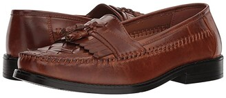 Deer Stags Herman Tassel Loafer (Cognac Simulated Leather) Men's Slip-on Dress Shoes