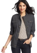 LOFT Cotton Canvas Utility Jacket
