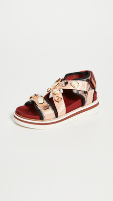 See by Chloe Embellished Yumi Sandals