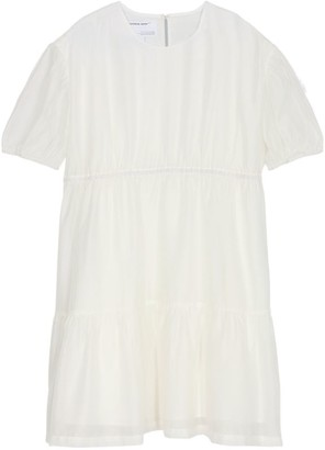 Designers Remix Sonia Tiered Puff Sleeve Dress (6-16 Years)