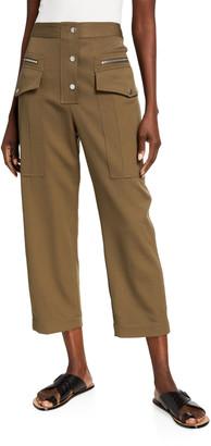 3.1 Phillip Lim Wool Snap Cargo Pants