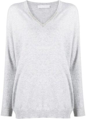 Fabiana Filippi V-neck knitted jumper