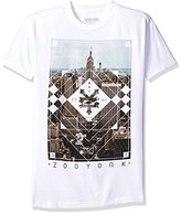 Zoo York Men's Short Sleeve Squarely T-Shirt