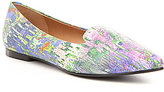 Trotters Harlowe Printed Leather Flats