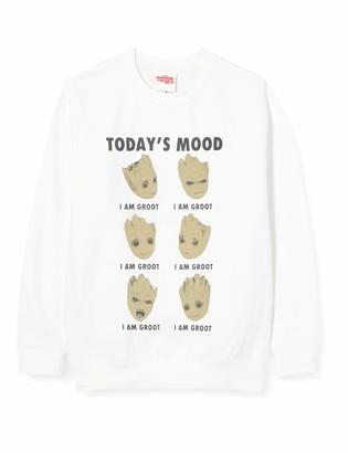 Marvel Boy's Guardians of The Galaxy Vol 2 Groot Today's Mood Sweatshirt