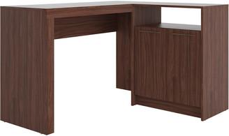 Manhattan Comfort Kalmar L -Shaped Office Desk