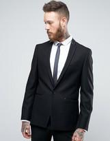 Burton Menswear Slim Blazer With Satin Trim