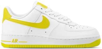 Nike Force 1 Low Patent White Bright Citron (W)