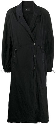 Andrea Ya'aqov Drawstring Long Trench Coat