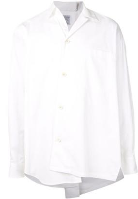 Kolor Asymmetric Style Chest Pocket Shirt