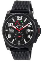Reign Zhu Collection Men's Automatic Silicone and Stainless Steel Watch