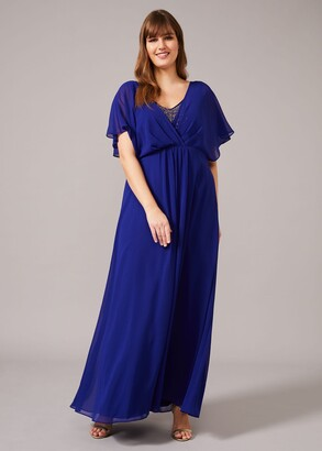 Phase Eight Albertina Sequin Maxi Dress