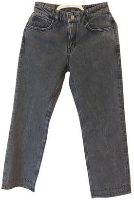 AllSaints Black Cotton Jeans
